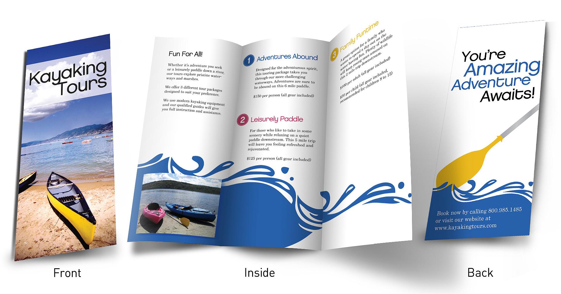 mẫu in brochure đẹp