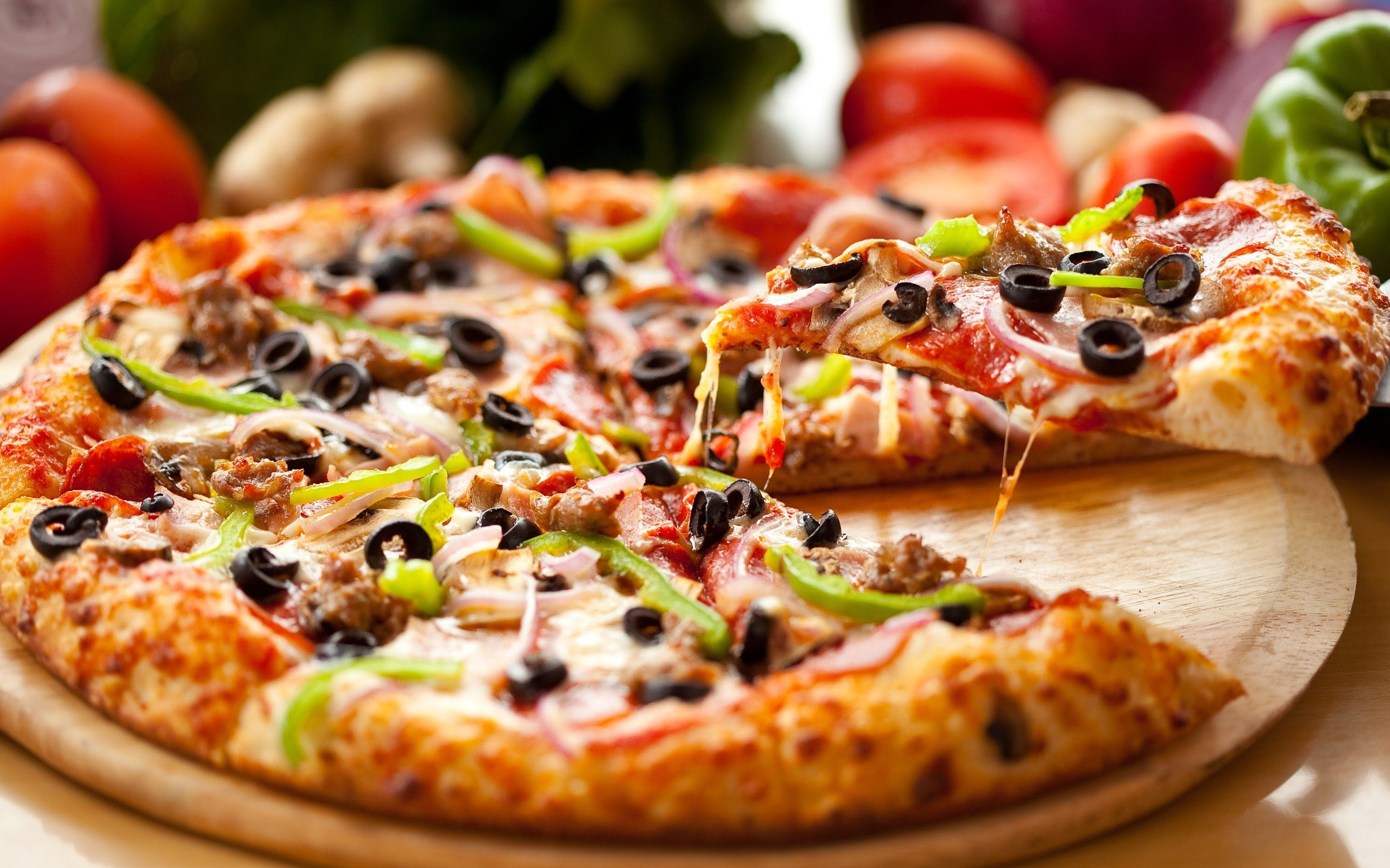 bánh pizza đẹp