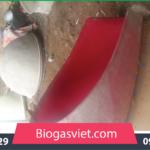 hầm ủ biogas composite cait tiến bvc