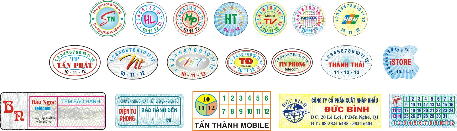 in decal chống giả
