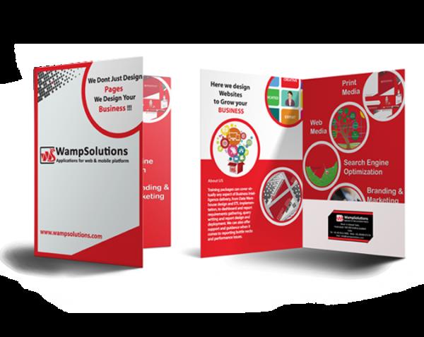In brochure chất lượng cho doanh nghiệp