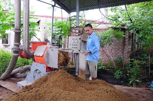xử lý chất thải chăn nuôi heo